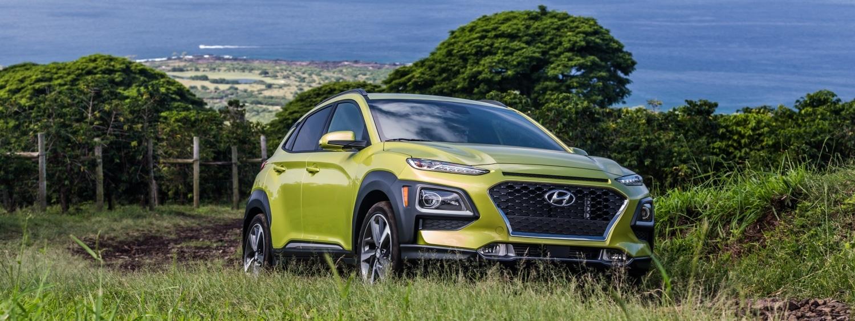 Hyundai Kona 2019 avant chez Ste-Foy Hyundai