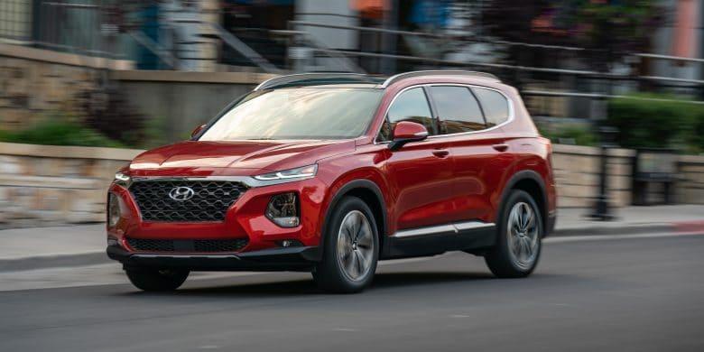 Santa Fe 2020 rouge